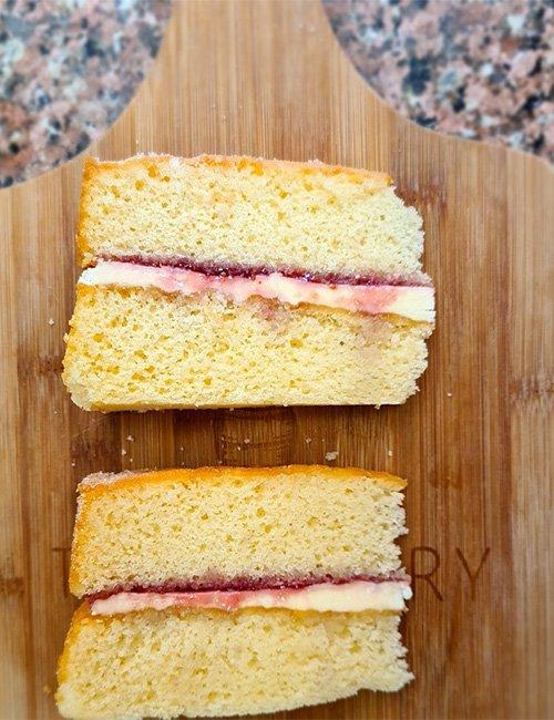 Victoria Sponge (Gluten-Free).
