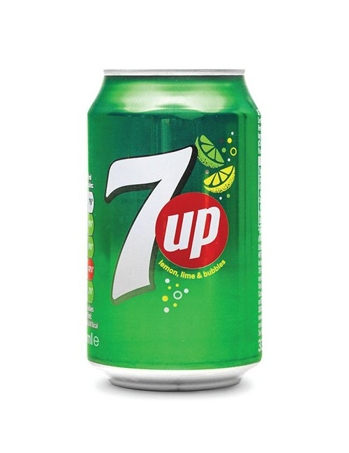 7Up 330ml can.