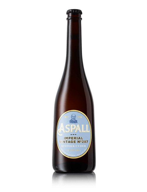 Aspalls Imperial Cider.