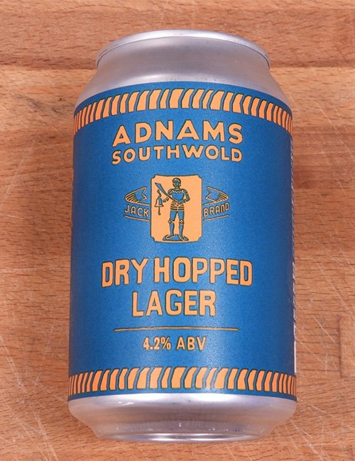 Beer Adnams Dry Hopped Lager.