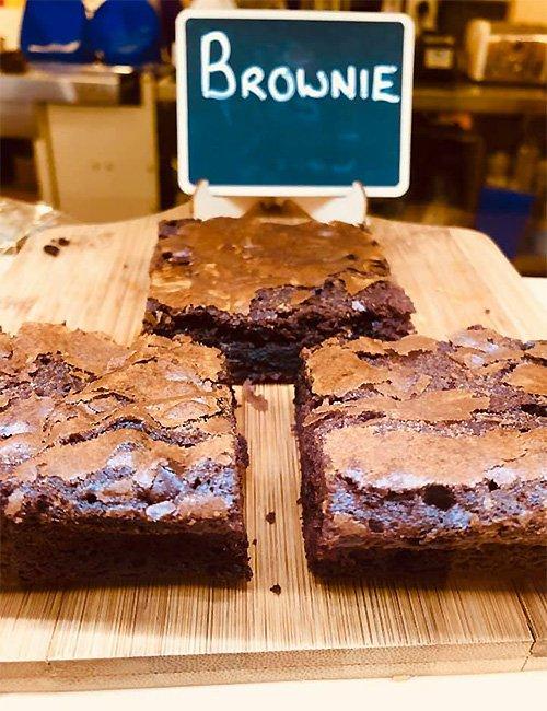 Gluten-free Chocolate Brownie.