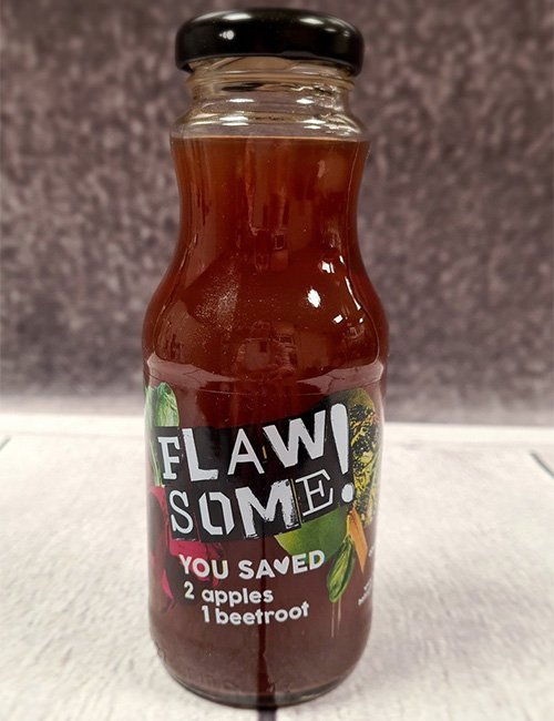 Flawsome Apple & Beetroot 250ml Bottle.
