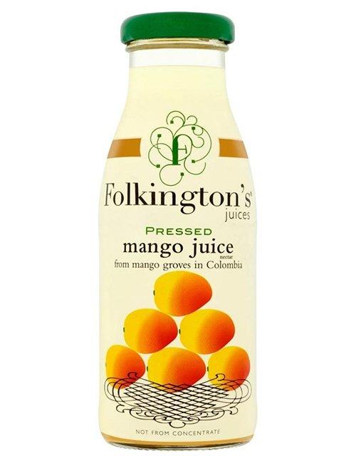 Folkingtons Mango Juice.