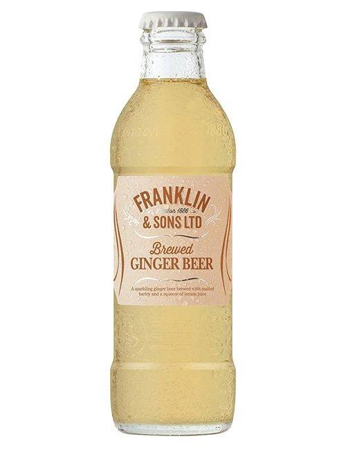 Franklins Ginger Beer.