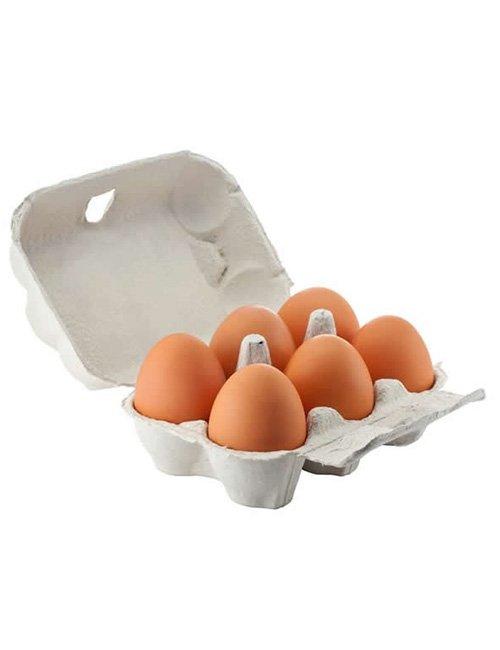 Free range eggs.