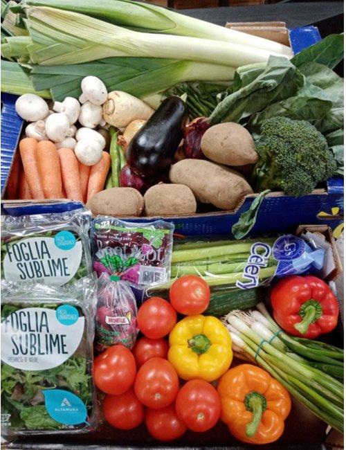 Apiary Large Veg and Salad Box
