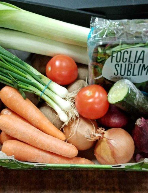 Small Veg and Salad Box