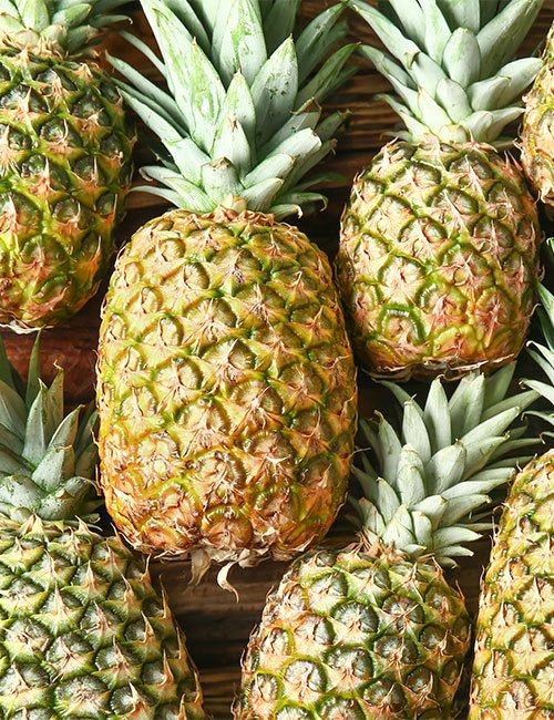 Pineapples at The Apiary.