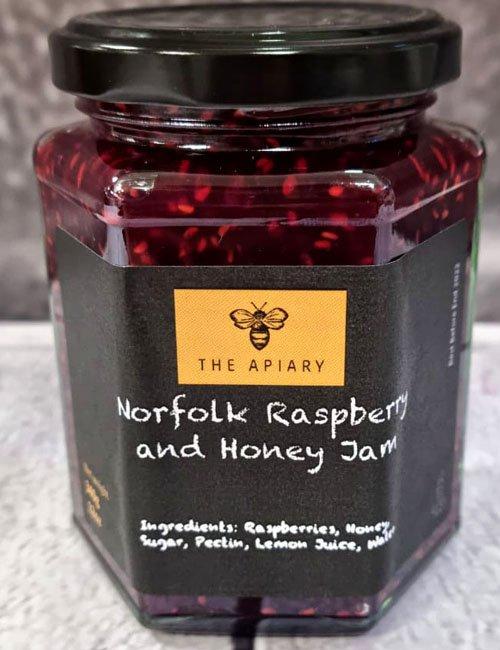 Norfolk Raspberry and Honey Jam
