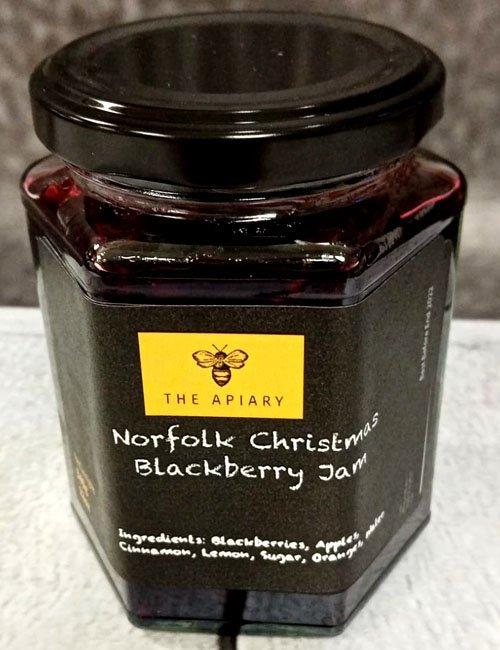 Christmas Blackberry Jam
